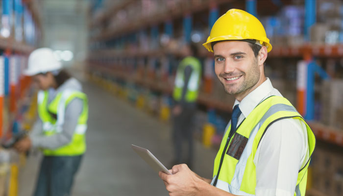 racking training warehouse operator